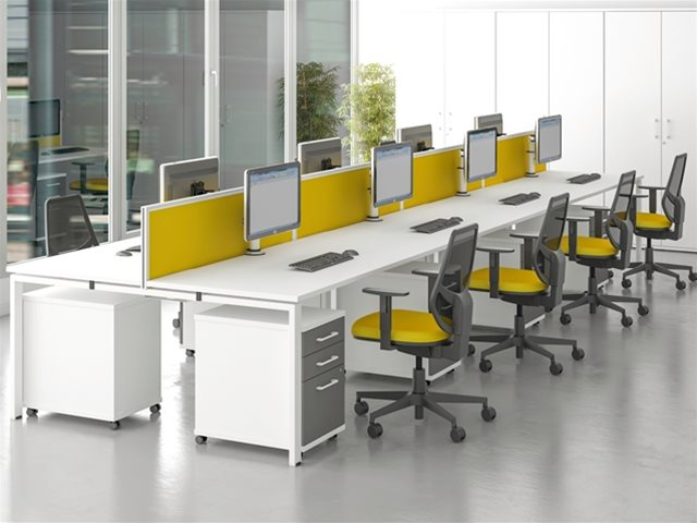 office desks from BFX Furniture